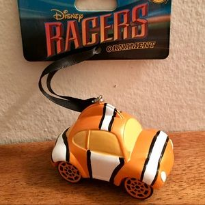 Disney Parks Racers Finding Nemo Holiday Ornament